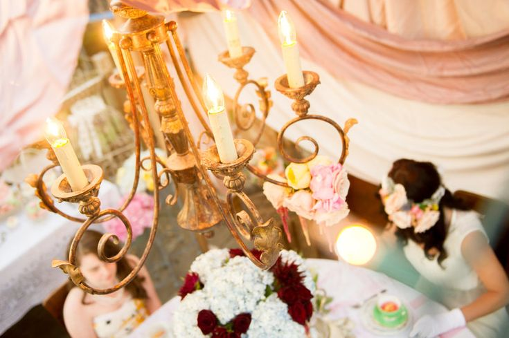 Vintage Tea Party Photo By PhotoCaptiva