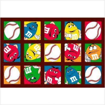 "LA Rug M's Baseball Rug by Fun Rugs. $20.69. 19""x29"". Medium Pile. M's Baseball Rug, great for the young baseball player. Size 19"" x 29"""