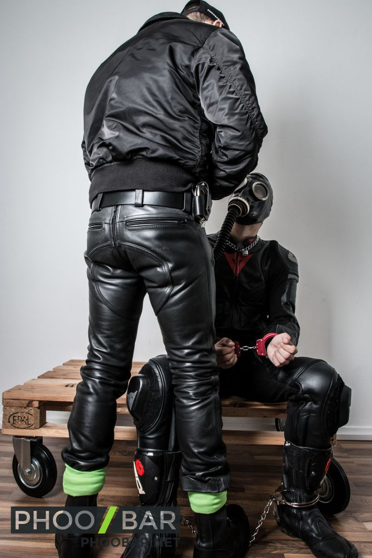 from Devin gay leather site