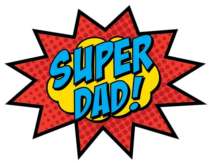 Super Dad Sign PRINTABLE by BsquaredDesign on Etsy, $7.50