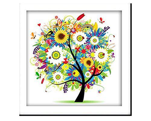 Allure*love 5D DIY Diamond Painting The Four Seasons Trees Cross Stitch Round Diamond Embroidry (Summer) Allure*Love http://www.amazon.com/dp/B016PWOWAK/ref=cm_sw_r_pi_dp_a0Vexb06YZVQ0