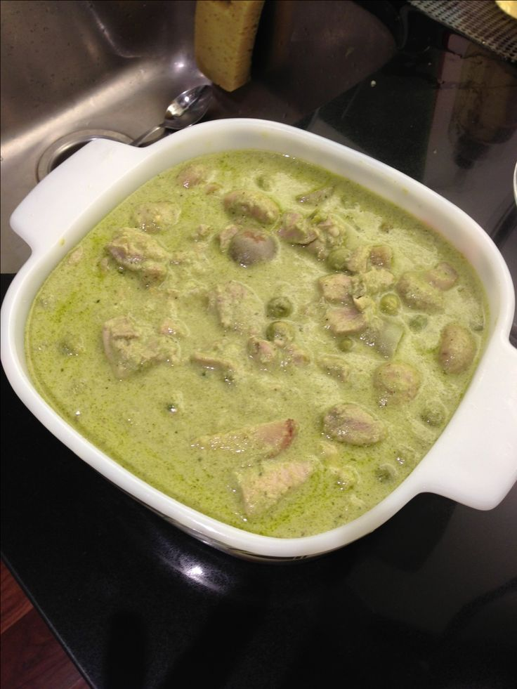 Recipe Thai Green Chicken Curry by alphazulu08 - Recipe of category Main dishes - meat