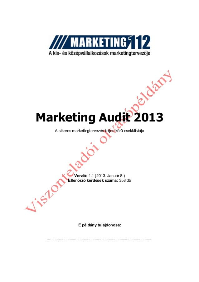 Die besten 25+ Marketing audit Ideen auf Pinterest - external audit report