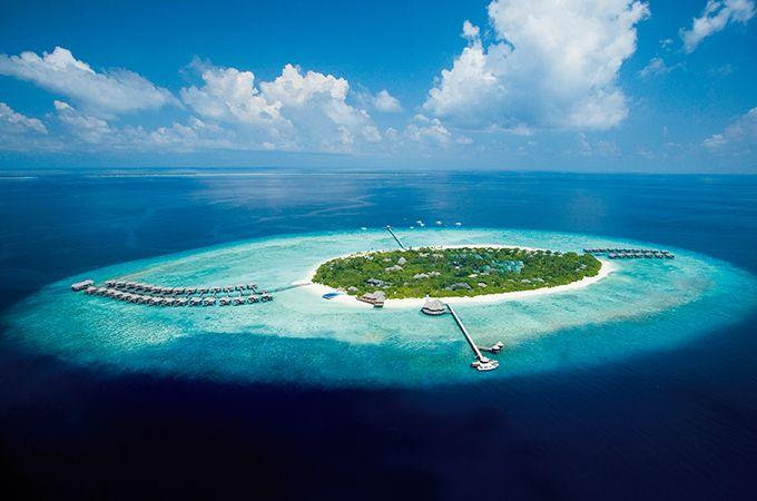 Picture-perfect aerial views of JA Manafaru