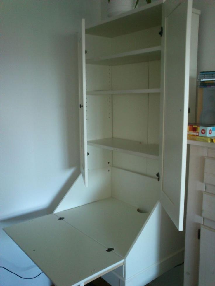 ikea hemnes kirjoituslipasto yl kaappi muu koti. Black Bedroom Furniture Sets. Home Design Ideas