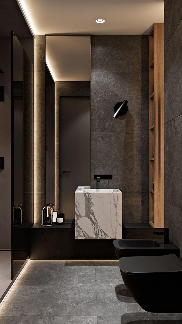 Pin By Coastal Home Decor On Residential Architecture Modern Bathroom Design Bathroom Design Luxury Home Interior Design