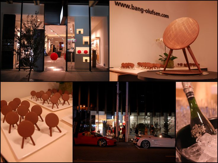 Bang and Olufsen launch. How cute are the mini chocolate speakers we created. Yes the big one is all chocolate too!