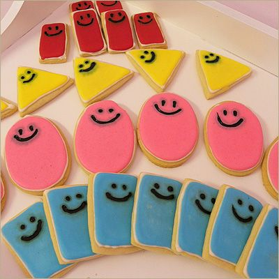 Cute Mister Maker Biscuits, a great idea for kids who love Mister Maker