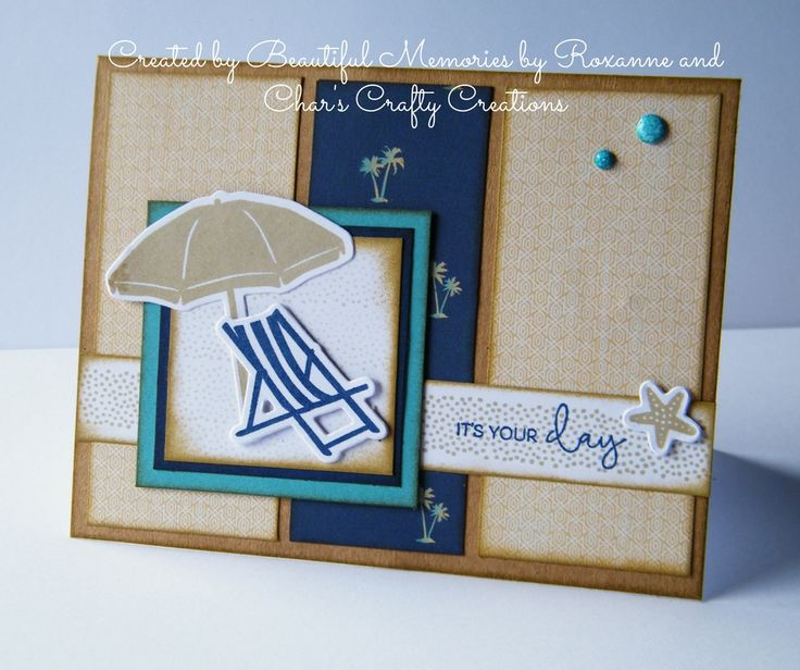 CTMH No Worries card by Beautiful Memories by Roxanne and Char's Crafty Creations