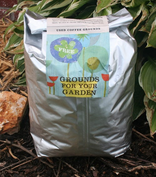 Starbucks' Grounds for Your Garden -- Starbucks started this program back in 1995, offering customers complimentary five-pound bags of used coffee grounds that they could use for their gardens, as part of their corporate effort to recycle and reduce waste.