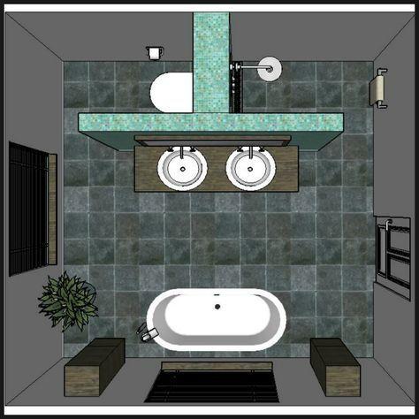 Die besten 12 Design-Ideen für das Badezimmer-Layout
