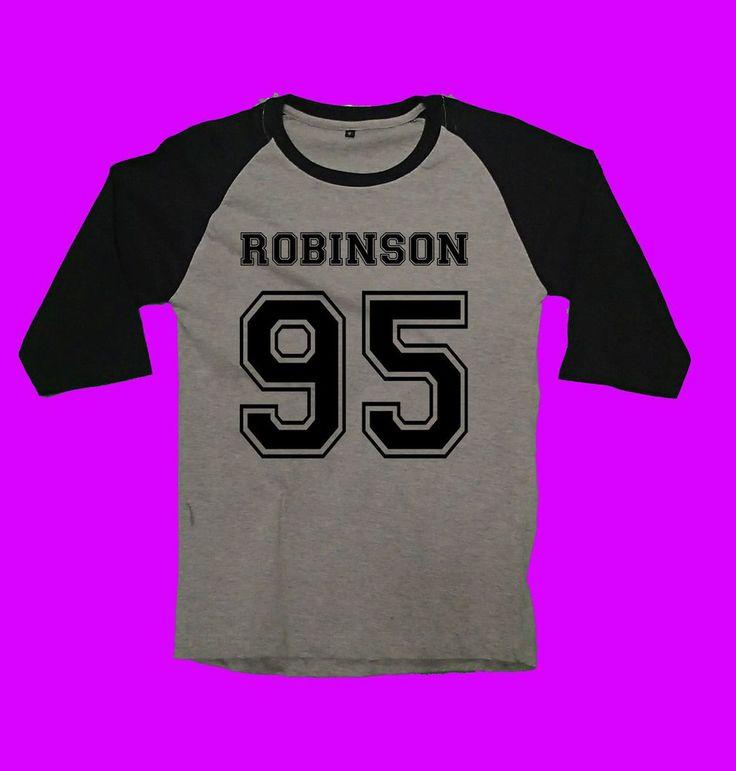 nick robinson 95 shirt tshirt clothing tee t-shirt number quote jurasic world #Unbranded