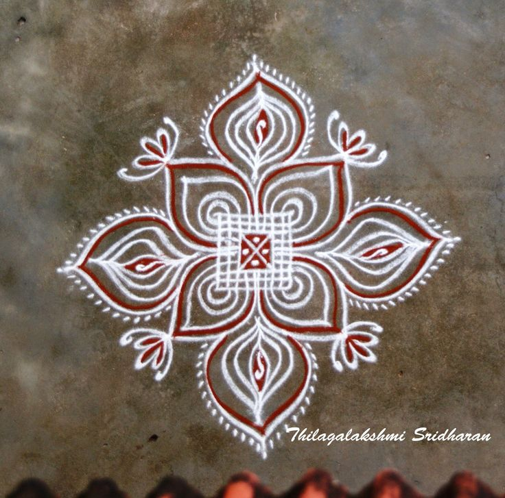 Rangoli and Art Works: PADI KOLAM