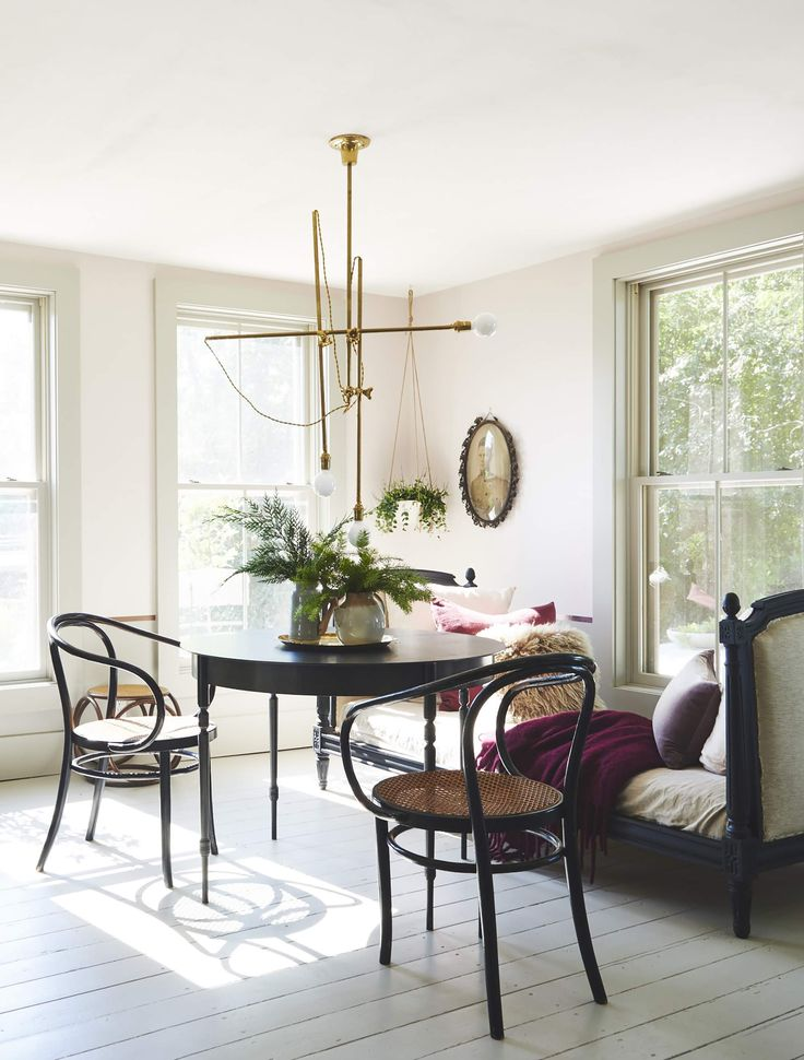 6 Floor Paint Ideas That Will Give Your Hardwoods New Life in 2020   Dining room victorian ...