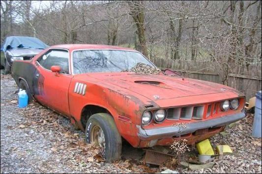 1971 39 cuda muscle car barn finds pinterest. Black Bedroom Furniture Sets. Home Design Ideas