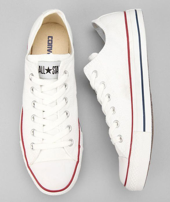 I really really really want a pair of white converse but I'm broke asf so