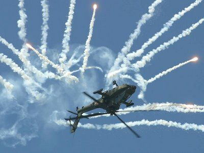 Apache Helicopter Firing | Apache Helicopter firing - AWESOME!!!