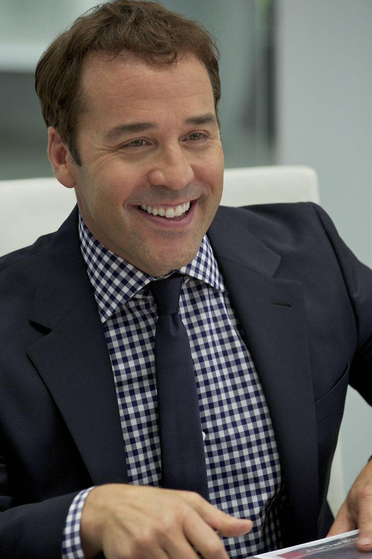 Gingham Check Shirt, Black Tie, Suit Jacket. -- Ari Gold ...