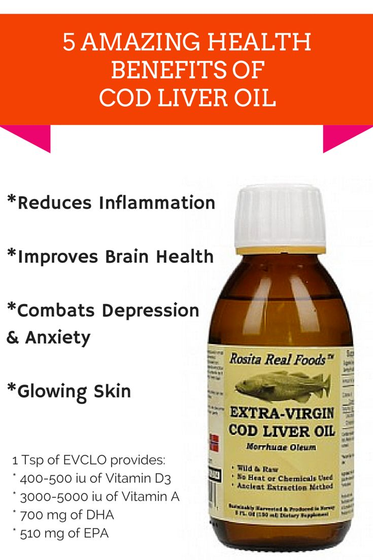 Best 25 cod liver oil ideas on pinterest fish liver oil for What are the benefits of fish oil