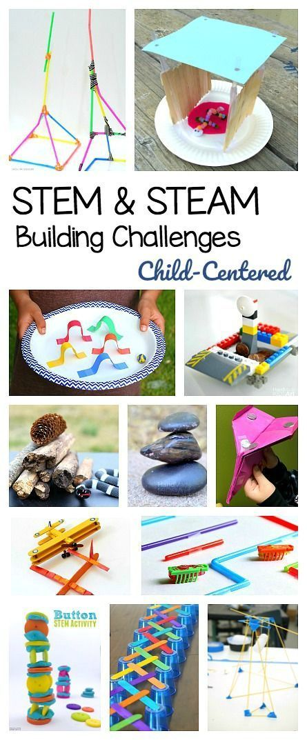25+ STEM Challenges for Kids: Child-Centered Projects Focused on Building