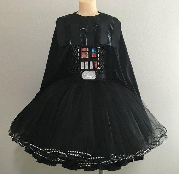 Darth Vader costume/ Darth Vader mask/ Darth Vader tutu dress/