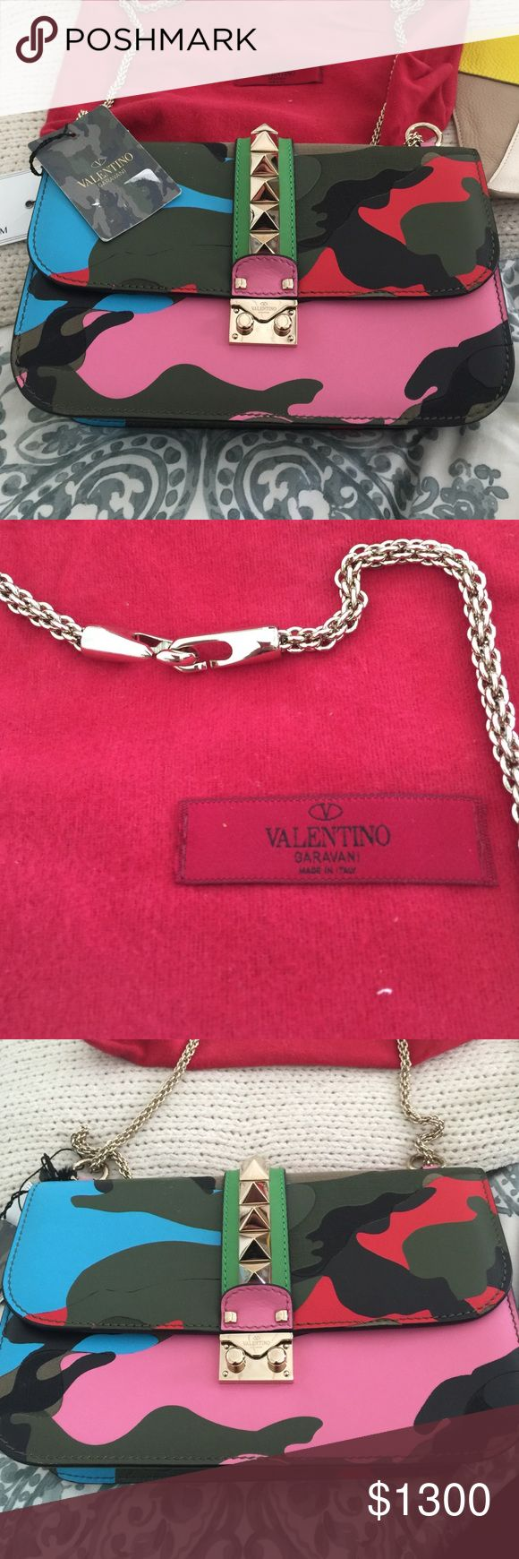 Brand new with tags Valentino camo bag Beautiful bag Valentino Bags Shoulder Bags