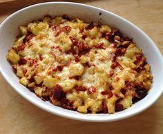 Rezept sehr einfacher Kartoffel - Rote Beete - Auflauf von Evalinga - Rezept der Kategorie Hauptgerichte mit Gemüse