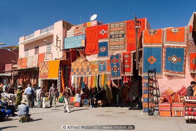Carpet shops.