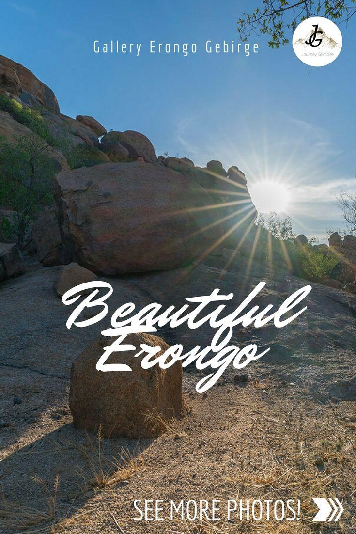 Das Erongo Gebirge ist eine wunderbare Region in Namibia. Steinig, aber wunderschön. Wir widmen Erongo eine eigene Fotogalerie.