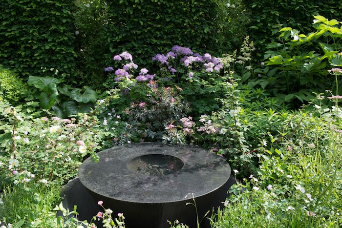 Linklaters Garden for Maggie's by garden designer Darren Hawkes