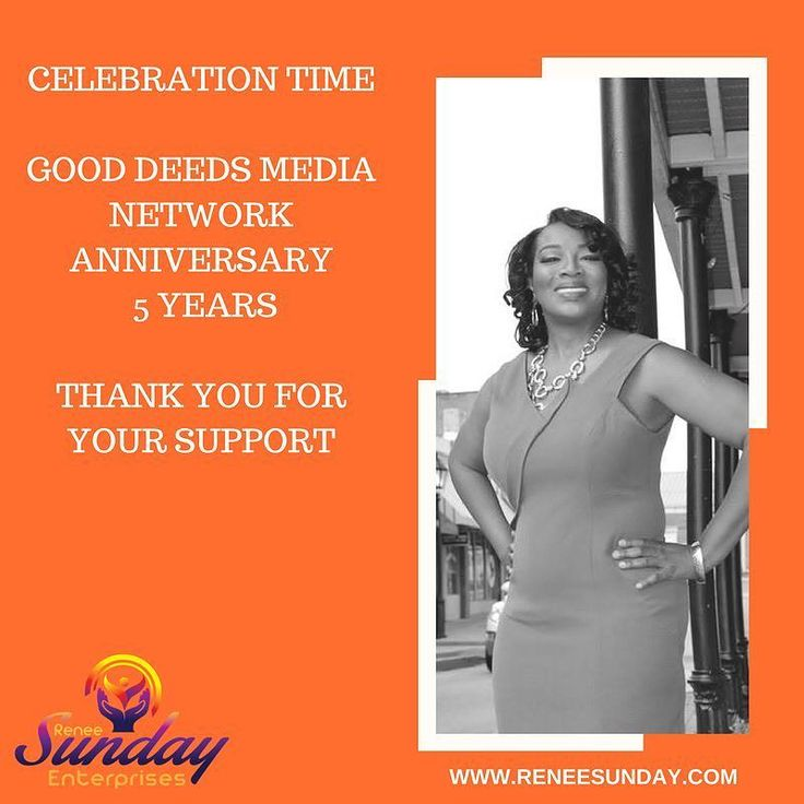 WOO HOO Super excited Good Deeds Media Network Anniversary is today - 5 years. We are grateful to have graced so many platforms: National Football League (NFL)  Oprah Winfrey  Bishop T. D Jakes Roland Martin and many others. Thank you for your support. #media #international #global #platformbuilder #gooddeedsmedianetwork #dream #gooddeeds  #mediamogul #Atl #atlanta #grateful #instapic #pictureoftheday