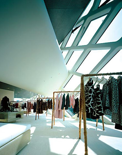 Interior Prada Tokyo- I will have a boutique like this one day with my clothes.