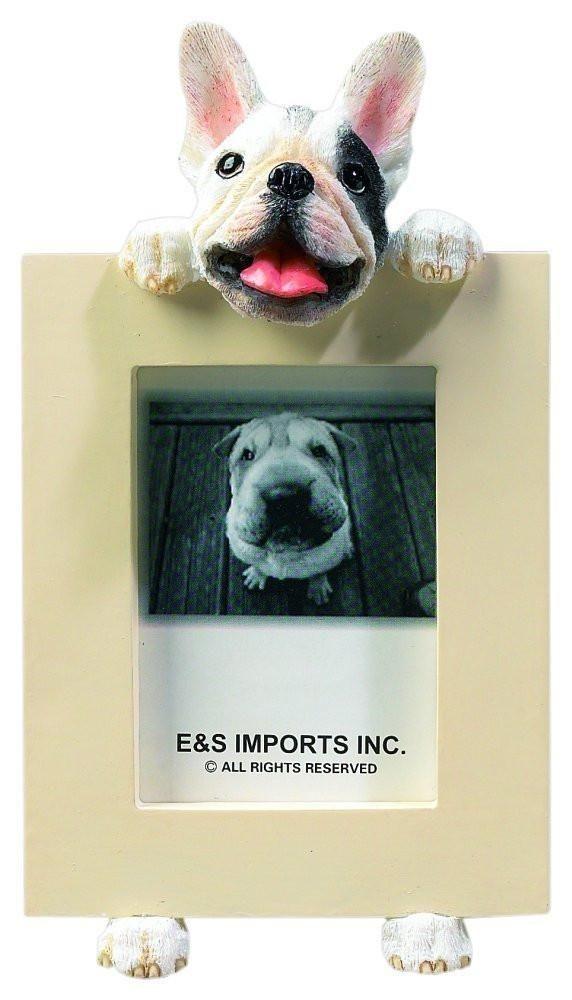 French Bulldog Dog Picture Frame Holder