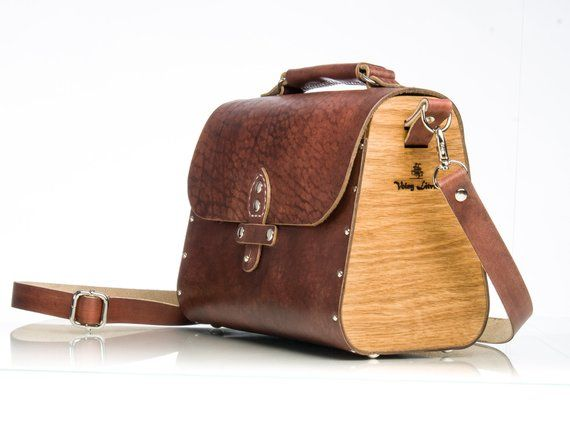 Wooden bag leather wood bag Leather handbag Leather crossbody bag Small wooden  bag Womens cross body   Products   Pinterest   Wooden bag, Bags and Leather ec503077a0