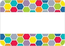 HexaFun Hexagons Labels