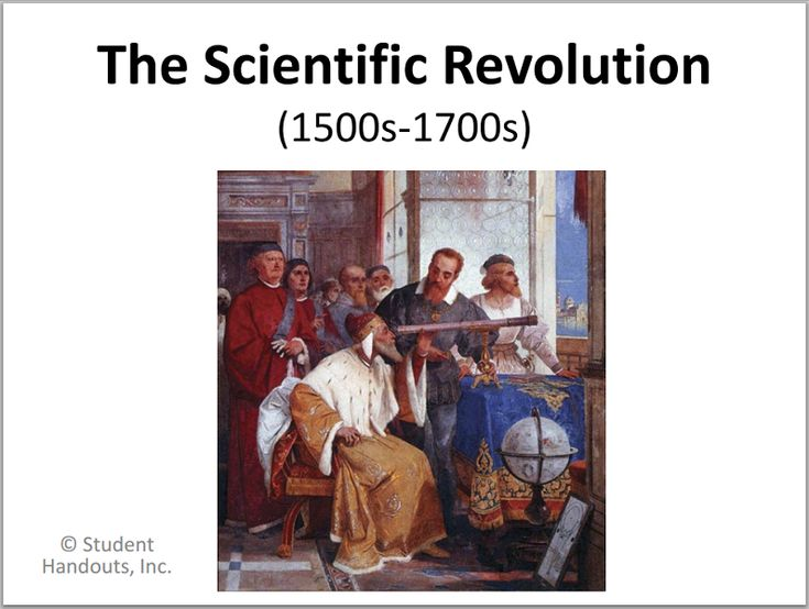 Scientific Revolution - Free PowerPoint Presentation for Grades 9-12