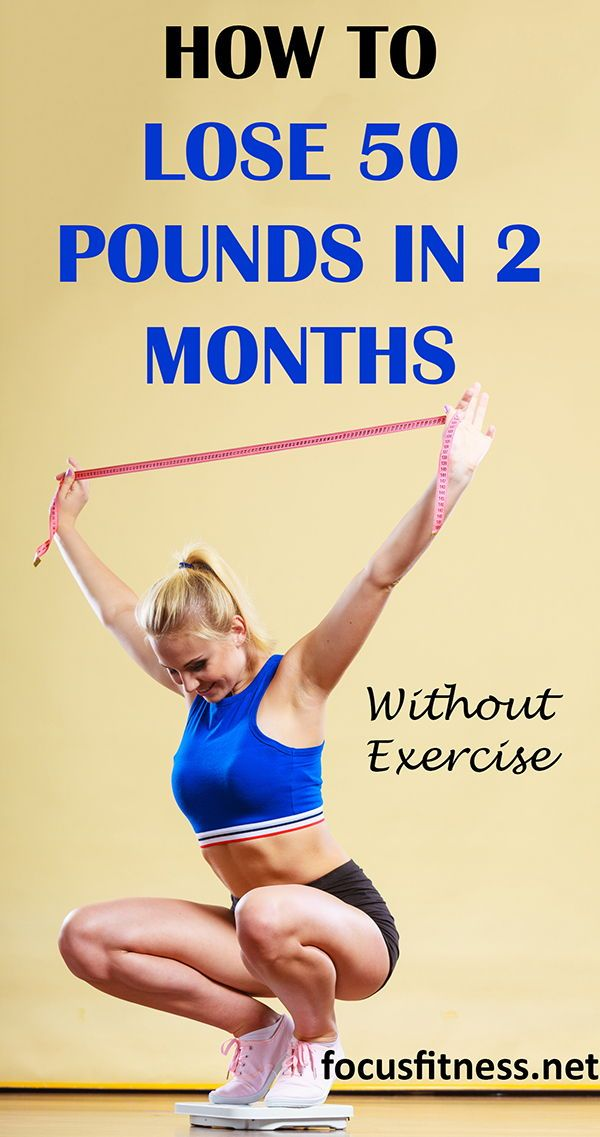 15 Tips On How To Lose 50 Pounds In 2 Months Without Exercise