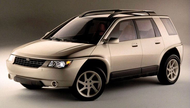 Ford Alpe and Alpe Limited, 1996, by Ghia. The Alpe was an Escort-based small SUV concept, the Alpe was sportier and more rugged than the Alpe Limited which was more comfort oriented