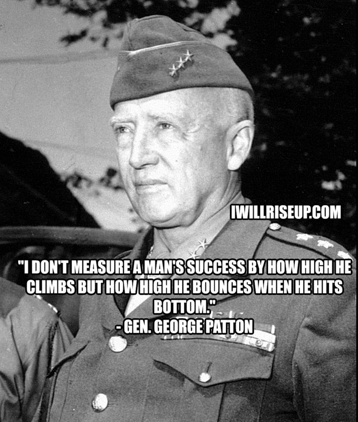 General Patton Quotes: 25+ Best Motivational Military Quotes On Pinterest