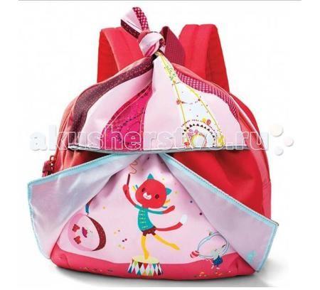 Lilliputiens Рюкзачок маленький Цирк Шапито  — 2690р. ----------  Lilliputiens Цирк Шапито: рюкзачок маленький.  Яркий разноцветный рюкзачок Цирк Шапито идеально подойдет для маленькой девочки. Его волшебный дизайн в розовой гамме вызовет восхищение у малышки, а удобная функциональная начинка— кармашки и крепления, позволят легко разместить самое нужное. Небольшой рюкзачок — идеальный компаньон для прогулок, поездок и походов. Внутри найдется место и для бутылочки с водой, и кошелек для…