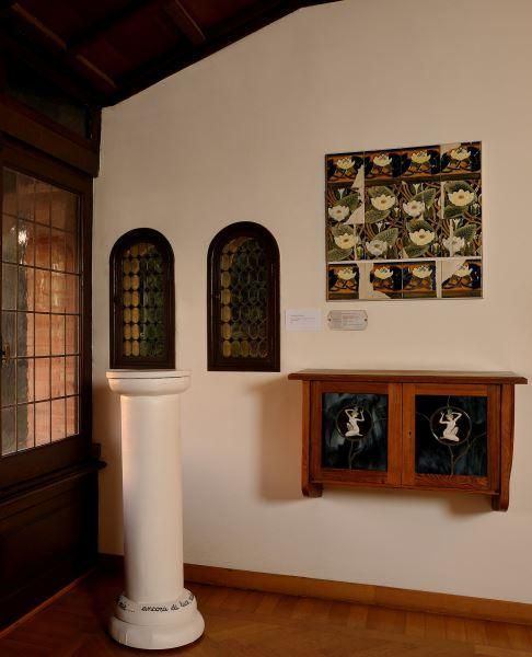 Colonna di Testo by Antonia Ciampi. Archivio dei sogni @ Musei di Villa Torlonia