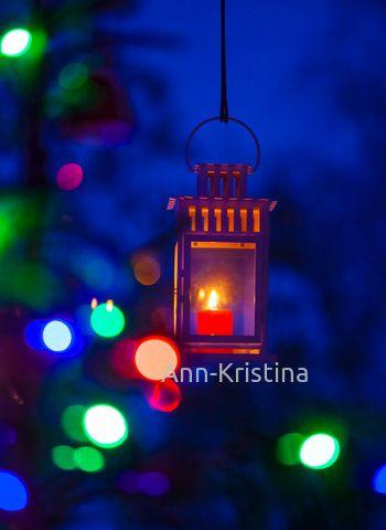 Ann-Kristina Al-Zalimi, lyhty, kynttilä, joulu, christmas, christmas lights, skandinavia, finland,  kynttilälyhty, joululyhty, light, candle lantern, blue moment, sininen hetki