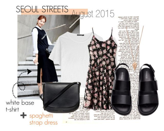 Seoul streets: August 2015 by ninjasofia on Polyvore featuring rag & bone, H&M, Mansur Gavriel, Pamela Love, StreetStyle, trends, seoul and fallwinter