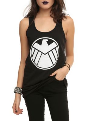 Marvel Her Universe Hydra Takeover Glow Girls Tank Top