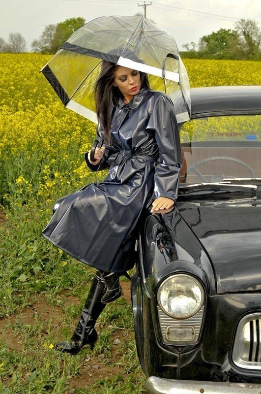 Raincoat Pvc Raincoat And Ladies Coats On Pinterest