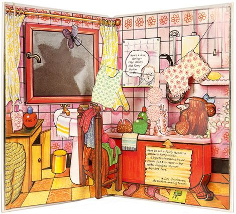 BRIGGS, Raymond (author and illustrator). Fungus the Bogeyman Plop-Up Book.  London; Hamish Hamilton Children's Books. 1982.