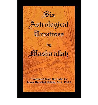 The book contains translations of six Astrological Treatises by the famous Arabian astrologer M[sh[>all[h: The Book of Reception in Horary Questions. The earliest available Medieval treatise on Horary Astrology The Book of Nativities. An early treatise on Natal Astrology The Book on the Revolutions of Years. An early treatise on Solar Returns. The Book on the Significations of the Planets in Nativities. The Epistle on Conjunctions. An early treatise on Mundane Astrology The Book of Thoughts…