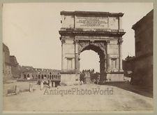 Arch of Titus Rome Age: 1880s