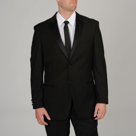 #Men's #slim #fit #black #tuxedo.Only $165