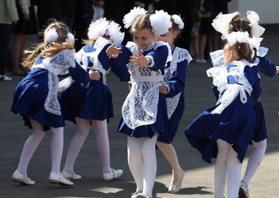 Вот в такой форме идут в школу первоклашки Ульяновска.